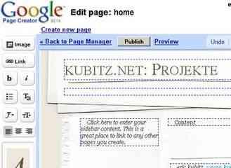 Google lanza una nueva herramienta que permitirá crear sitios web sin saber HTML