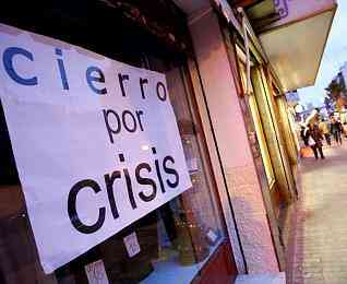 cierro por crisis