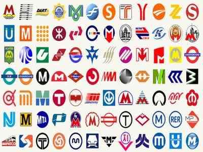 Logotipos del metro