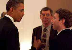 Obama y Zuckerberg hablarán de economía desde Facebook