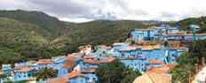 Málaga se pone azul por los pitufos