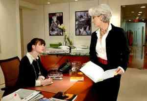 Un nuevo jefe en la oficina