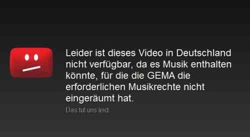 Youtube pierde una batalla legal por videos musicales