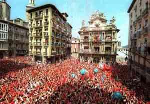 Los comercios de Pamplona venden más en San Fermín