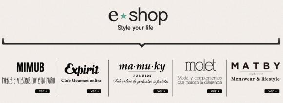 eshop ventures comercio electronico