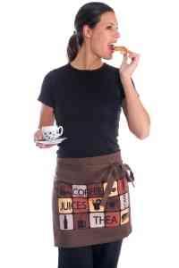 Uniforme de trabajo para cafetería