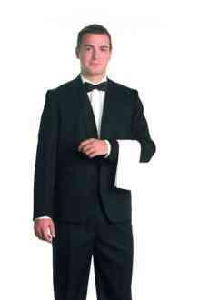 Uniforme de trabajo para camarero de restaurante elegante