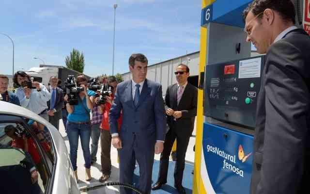 GNV gas natural España