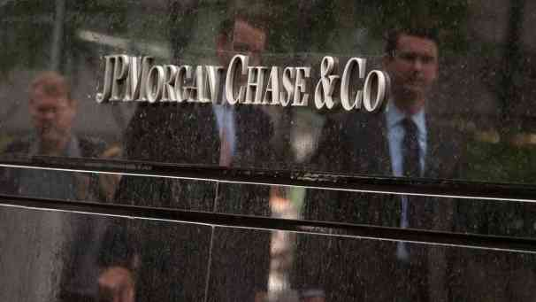 JP Morgan investigación