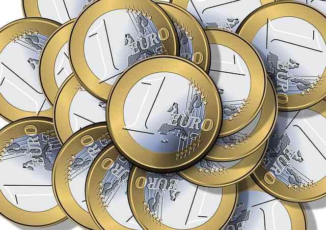 Monedas de uno y dos céntimos de euro