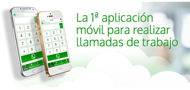 Bizphone, la primera app móvil para hacer llamadas de trabajo
