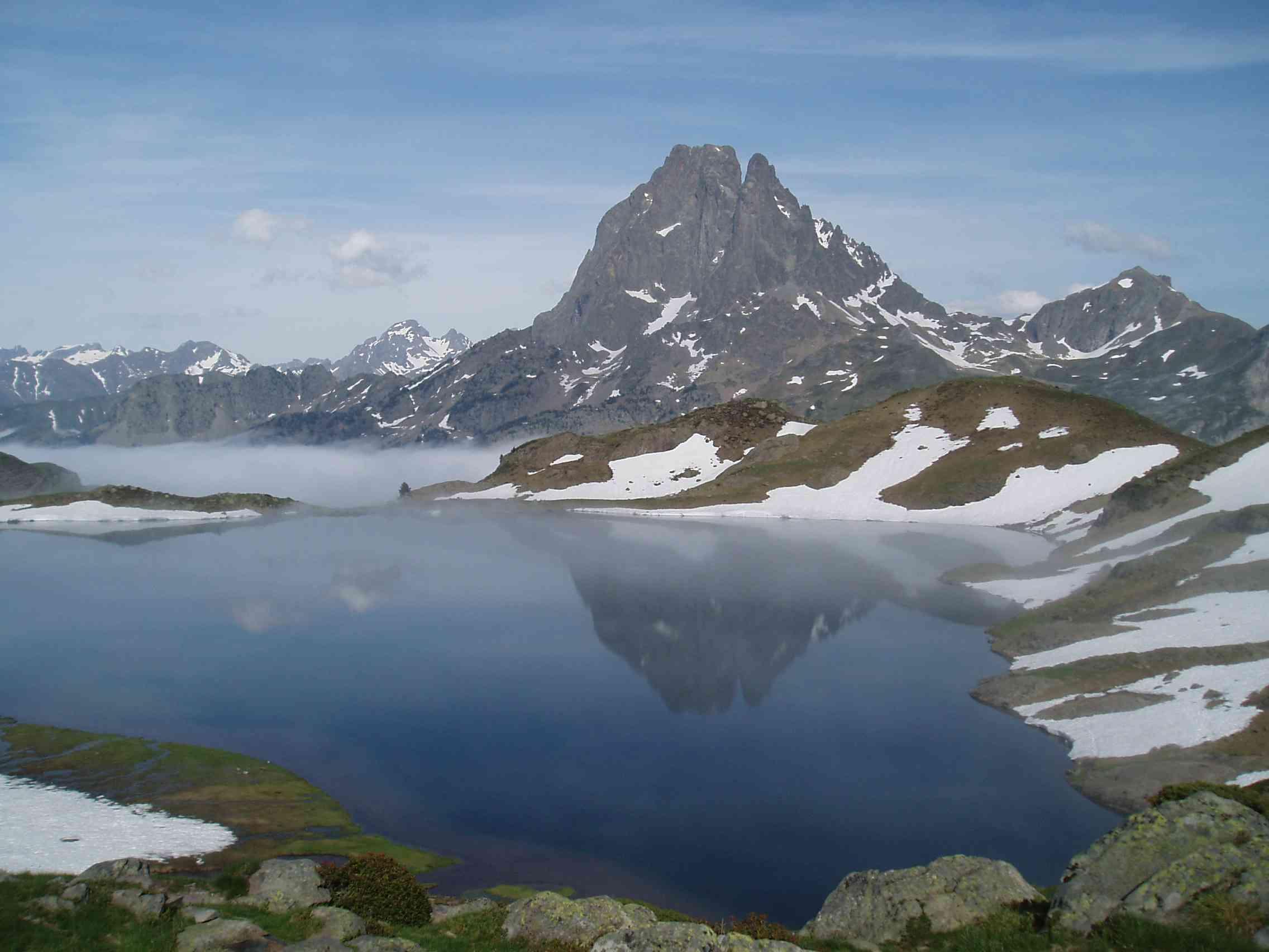 Gas en los Pirineos