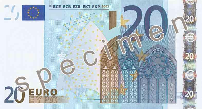 Nuevo billete de 20 euros: ¿cómo es y cuándo aparecerá?