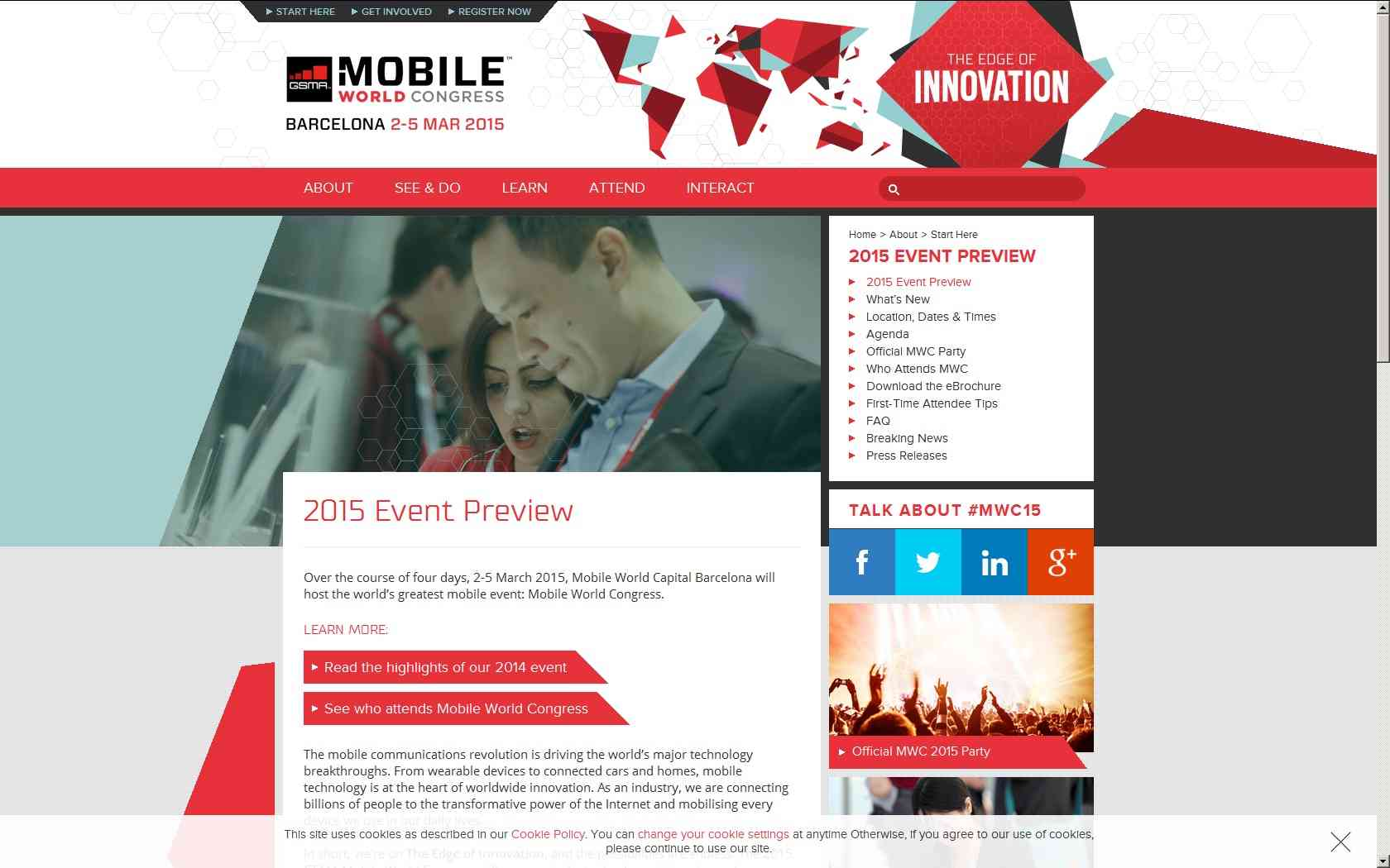 Mobile World Congress 2015 de Barcelona 1