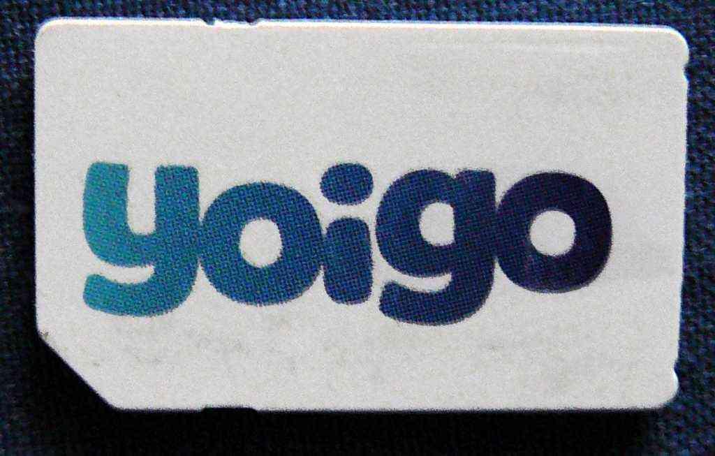 Tarifas móviles Yoigo