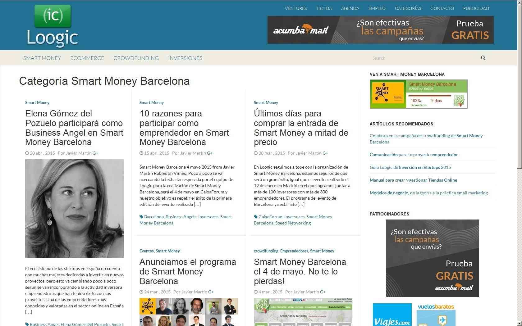 Smart Money Barcelona 2