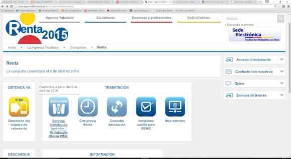 nueva herramienta renta web
