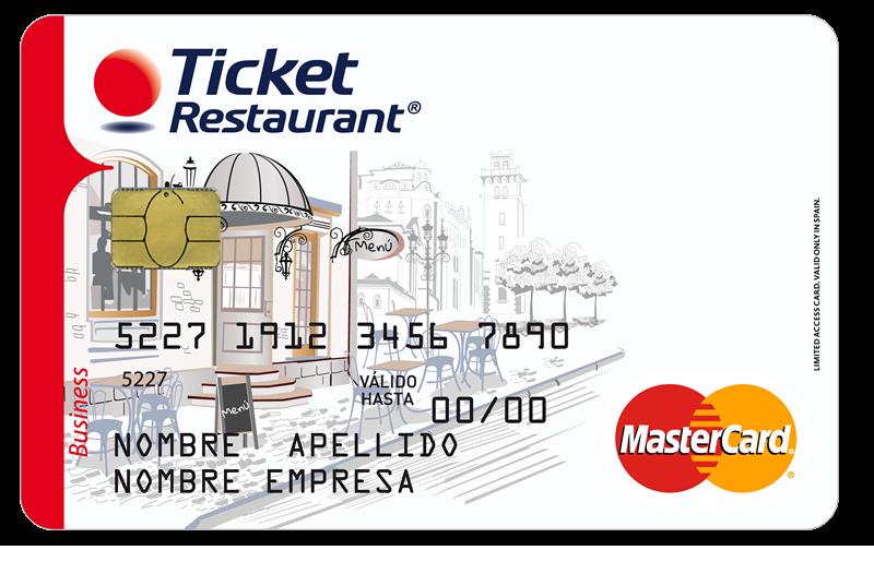 ticket restaurant mastercard