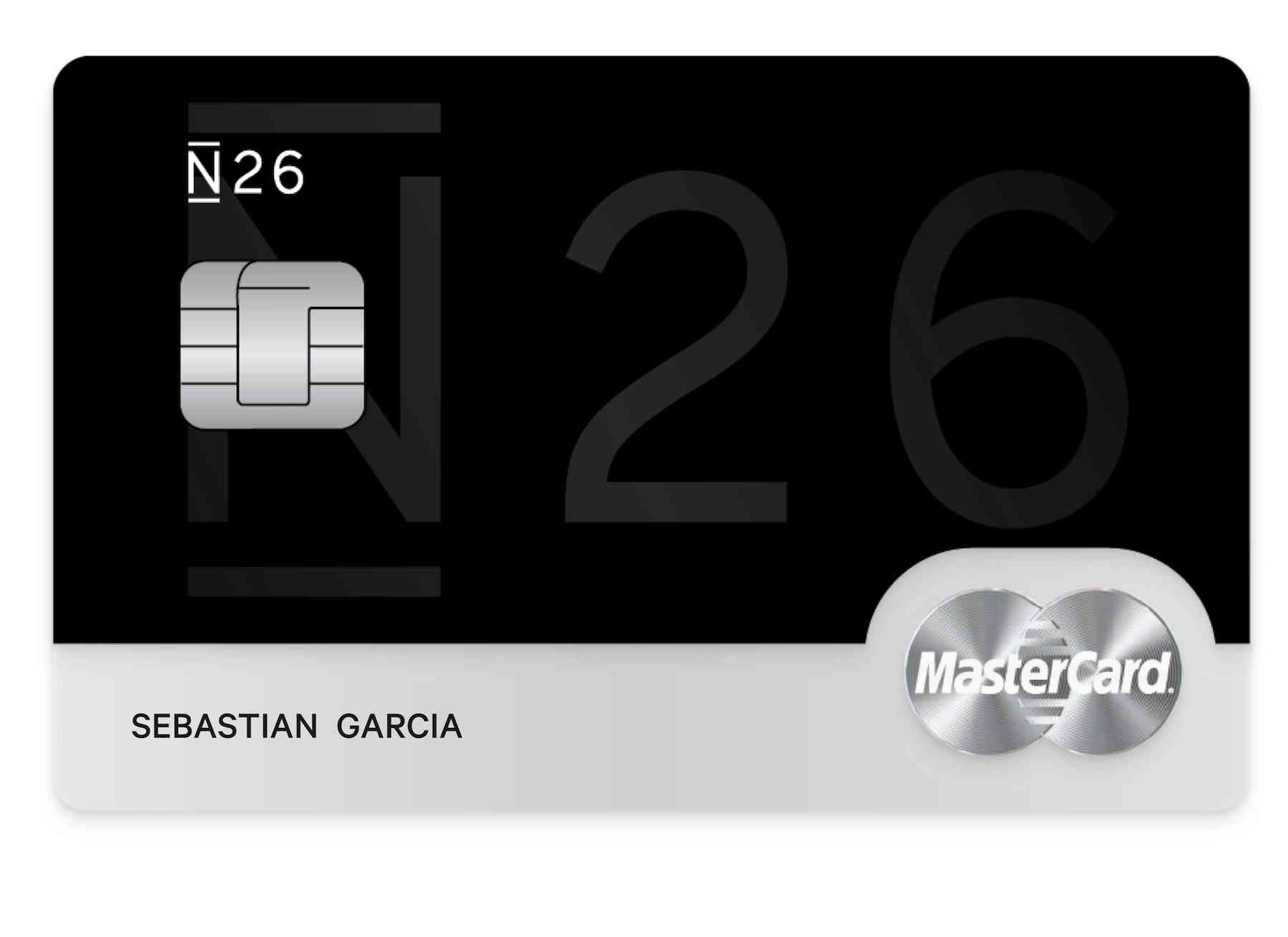 Mastercad black N26 banco