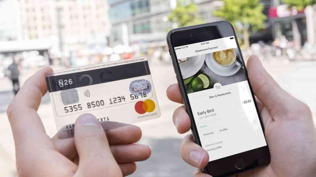 Usando tarjeta de crédito de N26 Banco