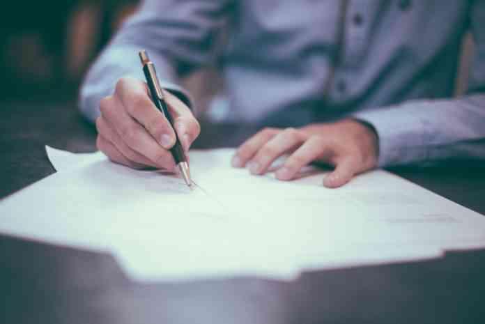 firmar credito hipotecario